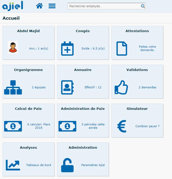 Page accueil Ajiel